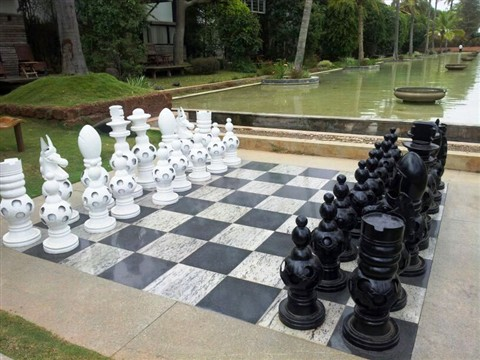 CHESS PIECES IN CURVES