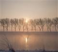 mist kanaal door Walcheren zonsopgang geen wm (1 van 1)