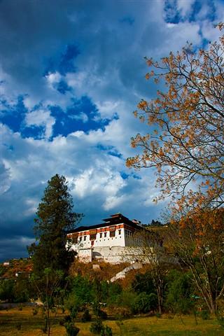 Buddhist monastery in Bhutan