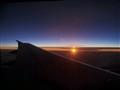 Over Adria sea