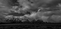 Ansel Adams - Shrouded Tetons
