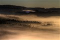 Just above the fog...