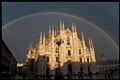 Rainbow in Milan