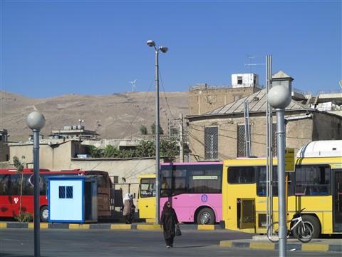 Bus Terminal Station Busbahnhof Haltestelle Shiraz Fars Iran
