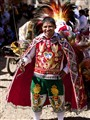 Festival man Sacred Valley Peru