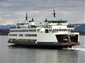 "Washington State Ferry ""CHELAN"" departing Anacortes"