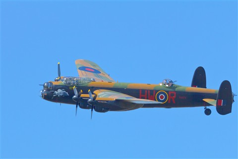 Lancaster Bomber - Southport Airshow - Liverpool