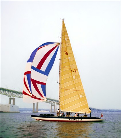 France 3 Nearing Clayton Pell Newport Bridge