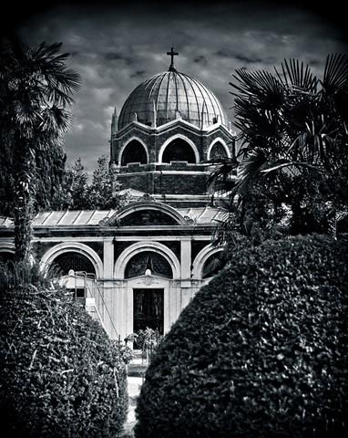 Venetian cemetery on San Michele Island