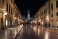 Rainy Night in Dubrovnik