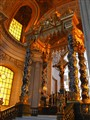 Golden light. Invalides. Napoleon's crypt.