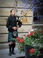 Scottish Piper, Buchanan Street, Glasgow.