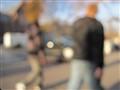Sidewalk blur