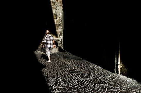 Walking in the city