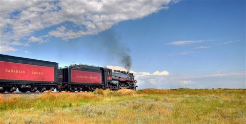 """Canadian Pacific Railway #2816"""
