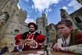 Bodiam Castle Card Players