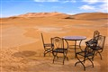 Chilled out in the Sahara Desert
