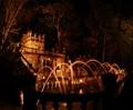 Night tour at Paronella Park