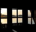 Sundown on Norwegian Island