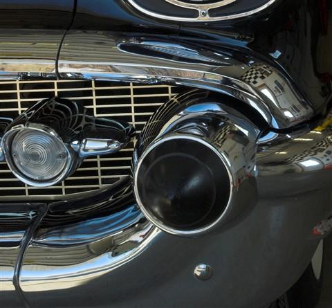 1957 Chev bumper Dagmar