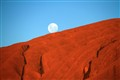 Moonrise over Uluru (Ayers Rock)