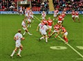 Rugby League, England Vs Wales Oct 2011