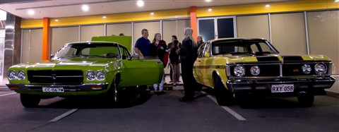GMH Holden HQ Monaro and Ford GT351