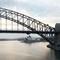 Sydney Harbour Bridge - early morning sunrise