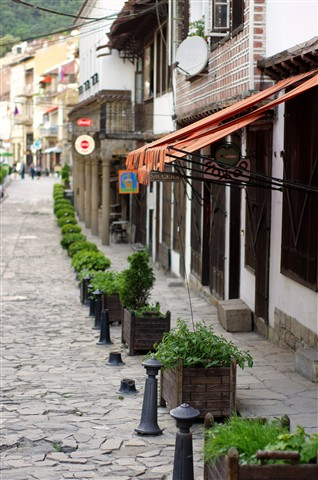 The streets of Veliko Tarnovo