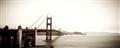 Fog over Golden Gate