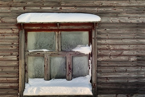 Window of an cold house