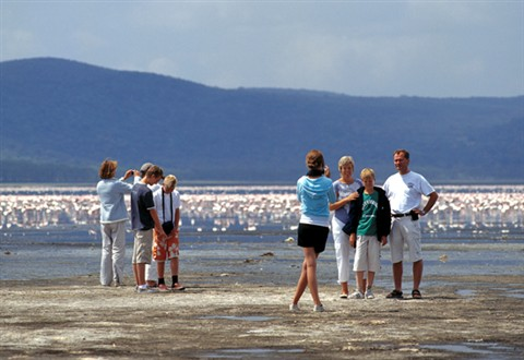 Tourists-photographing-at-Lake-nakuru