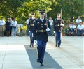 Protecting tomb of the Unknown Soldier