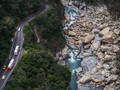 On the trail in Taroko National Park