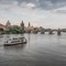 Charles Bridge over Vltava river, Prague