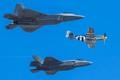 USAF Heritage Flight Baltimore 2016