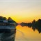 Erie Canal Sun Set