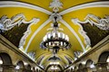 Magnificient Moscow subway station