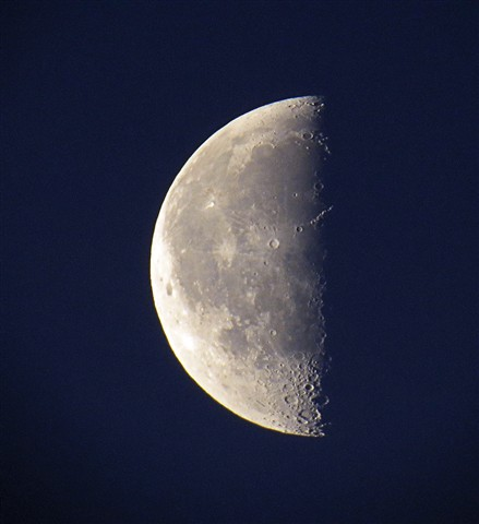 Moon with SX50