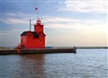 Big Red Lighthouse Holland MI