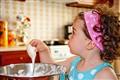 Cake baking...
