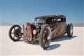Rat Rod on the Bonneville salt