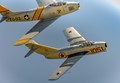 MIG and Sabre Jets-