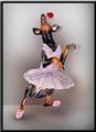 Doberman Ballerina