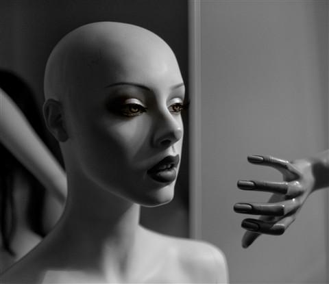 Menaced Mannequin