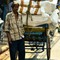 Poor man working hard in India