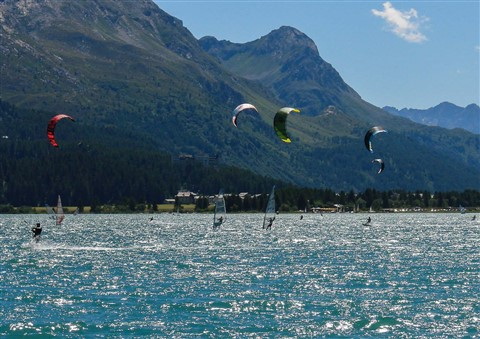 Mountain Kitesurf