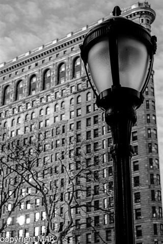 flatiron bw lamp