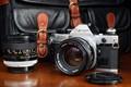 Canon AE-1 Program with lenses