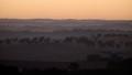 Sunrise near Leasingham in the Clare Valley, South Australia